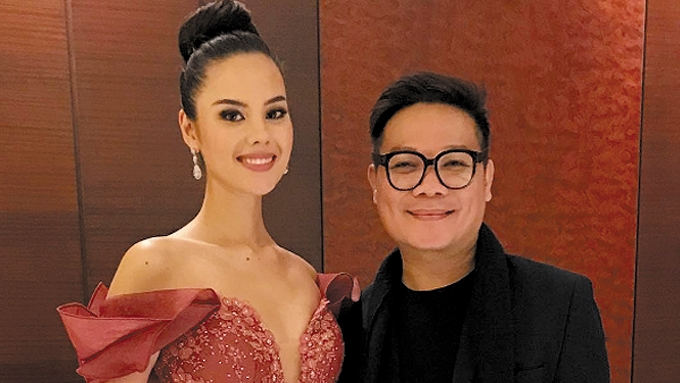 Jonas Gaffud tells Catriona Gray fans to stop hate comments