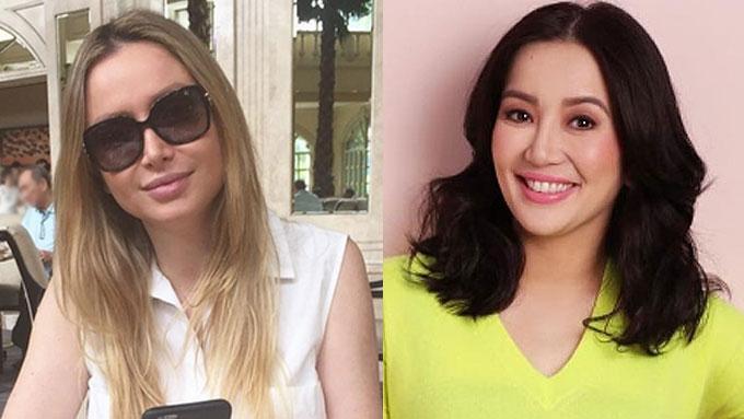 Kris Aquino now considers Michela Cazzola a friend
