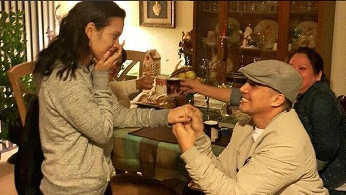 Boom Labrusca proposes again to Desiree del Valle