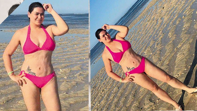 Aiko Melendez frontal bikini photo leaked online