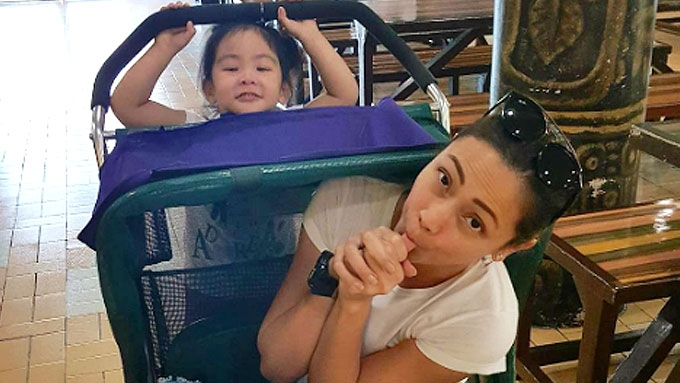 Jodi spends weekend with Pampi and Iwa's daughter