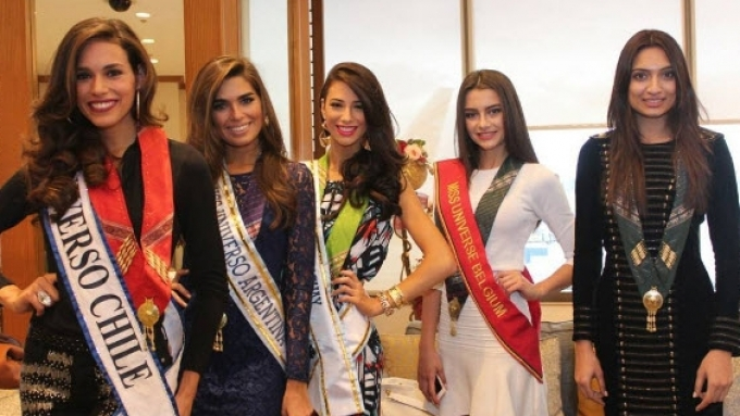 46 Miss Universe 2016 candidates have arrived in Manila