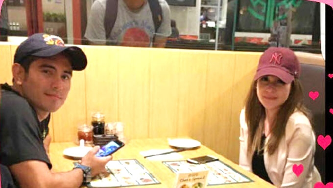 Gerald Anderson, Bea Alonzo spotted having babe time