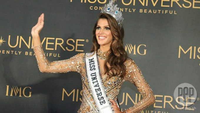 France is crowned Miss Universe 2016!