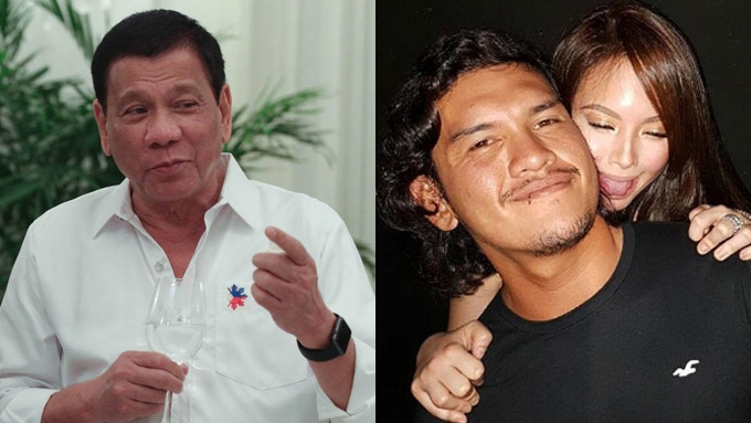 Duterte takes a swipe at Baste's relationship with Ellen