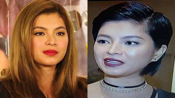 Angel Locsin sheds light on her short hairdo