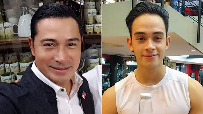 Cesar Montano just concerned with son Diego