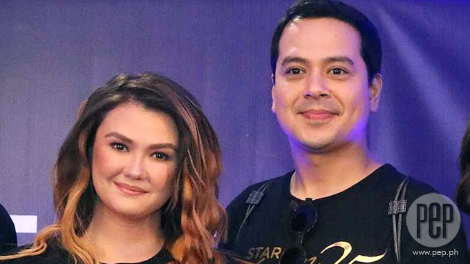 John Lloyd Cruz, Angelica Panganiban spotted at an art fair