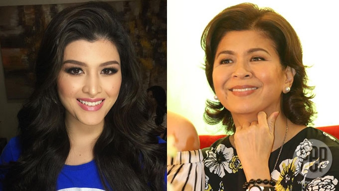 Sandy Andolong says daughter Mariel de Leon is au naturel