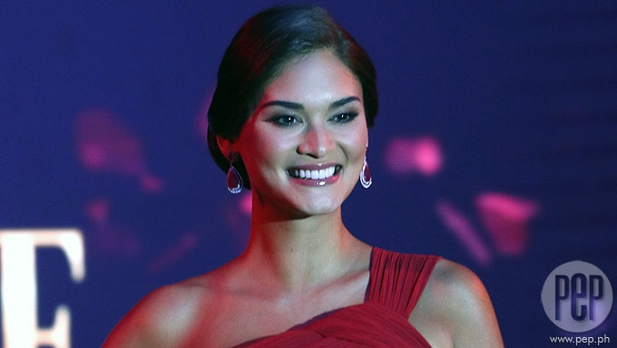 Pia Wurtzbach reacts to rumor her BF has two kids