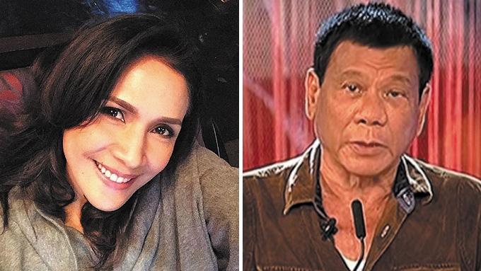 Is Agot Isidro's FB post alluding to President Duterte?