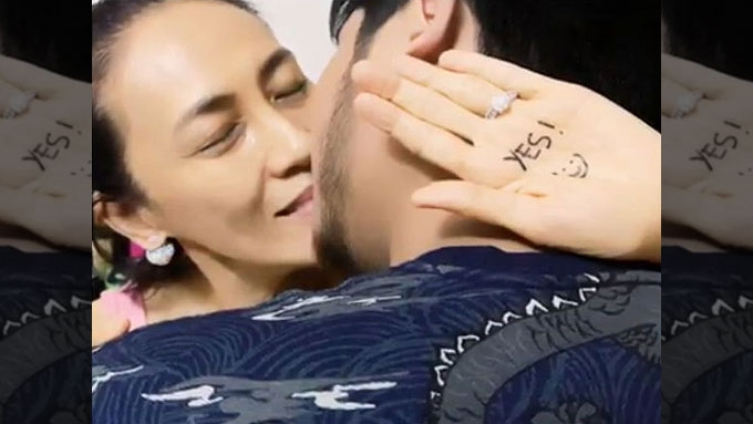 Ai-Ai delas Alas is now engaged to Gerald Sibayan