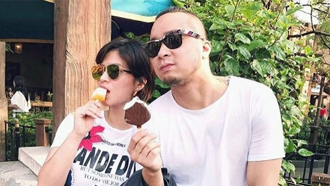 Angel Locsin and Neil Arce inseparable at her 32nd birthday