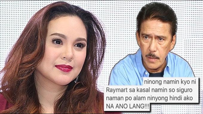 Claudine Barretto calls out ninong Sen. Tito Sotto