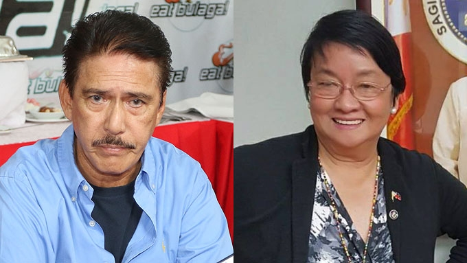 Sec. Judy Taguiwalo accepts Sen. Tito Sotto's apology