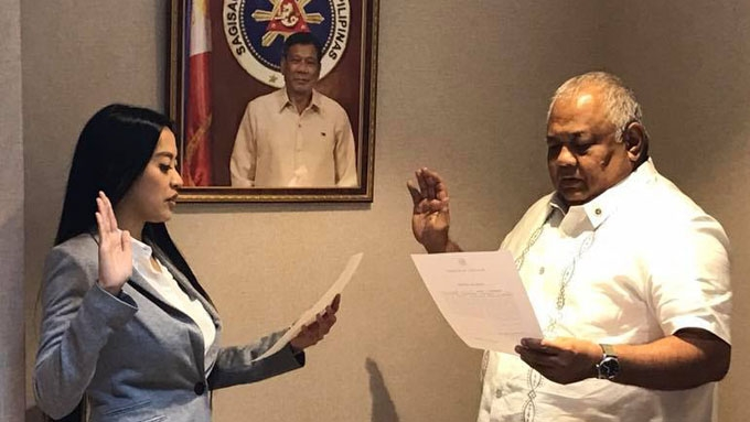 Mocha Uson ignores attacks on her new appointment