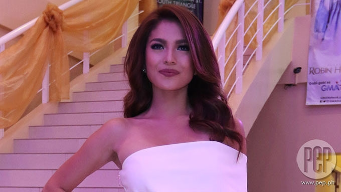 Andrea Torres evasive about alleged rift with Marian Rivera