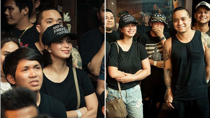 Angel Locsin spotted with Neil Arce at FlipTop event