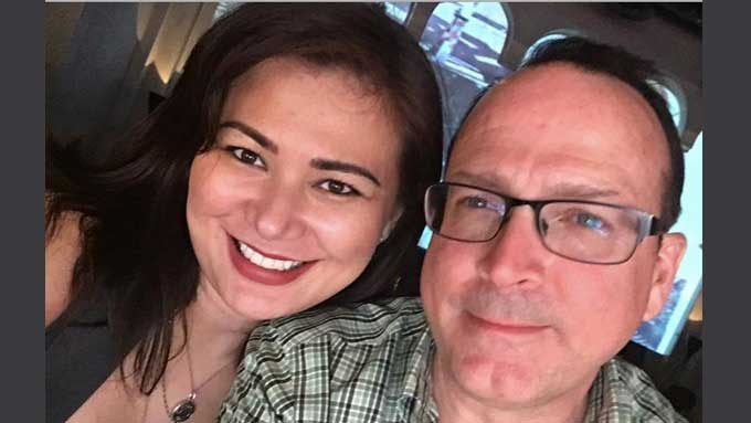 (UPDATED) Francine Prieto's husband held at NAIA for cussing
