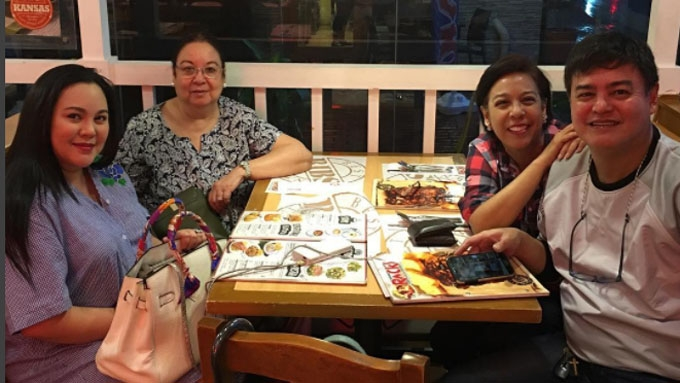 Claudine Barretto reconciles with her siblings