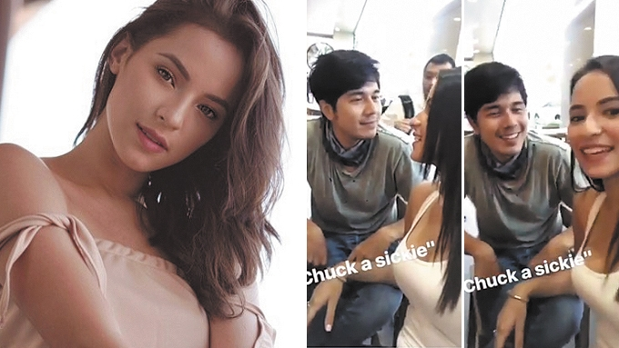 Paulo Avelino in a relationship with Fil-Aussie model?