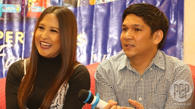 Jolina Magdangal, husband involved in vehicular accident