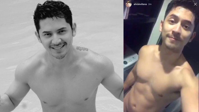Ahron Villena posts his nude photo on Instagram