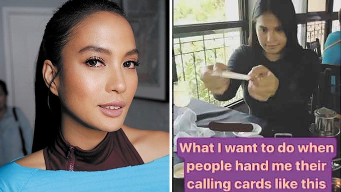 Isabelle Daza speaks up about