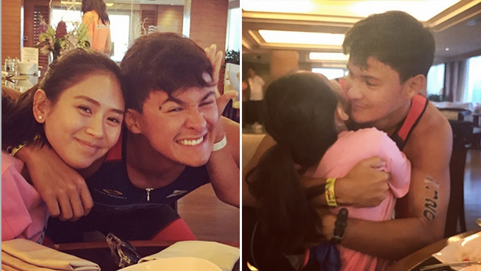 Sarah Geronimo surprises BF Matteo Guidicelli in Cebu