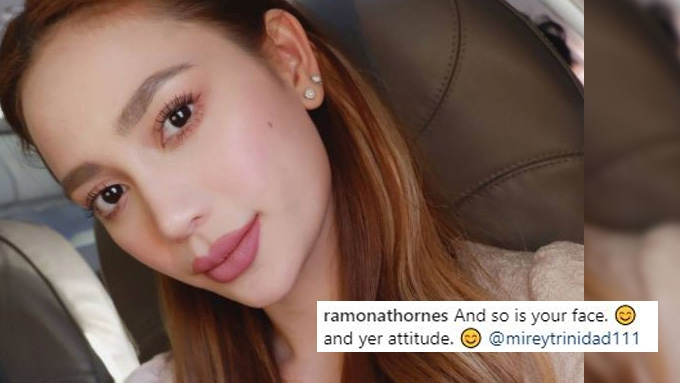 Arci Muñoz hits back at basher's comment on her lips