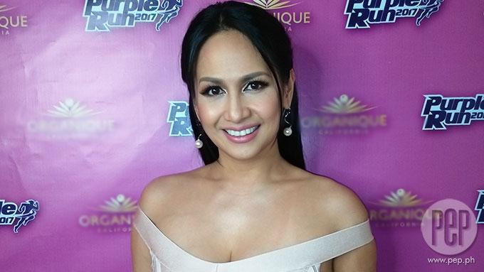 Regine Tolentino on Lander Vera-Perez: 'No help whatsoever.'