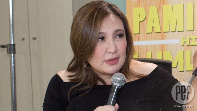 Sharon Cuneta hints at emotional and physical stress