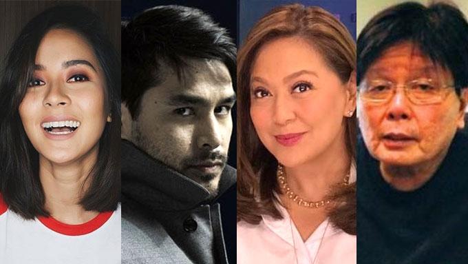 Bianca, Atom, Karen, Mike condemn violent killings in PH