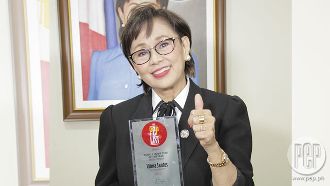 THE PEP LIST: Vilma Santos wins Movie Star of the Year