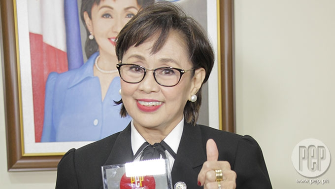 Vilma Santos reveals why she likes Jessy for son Luis