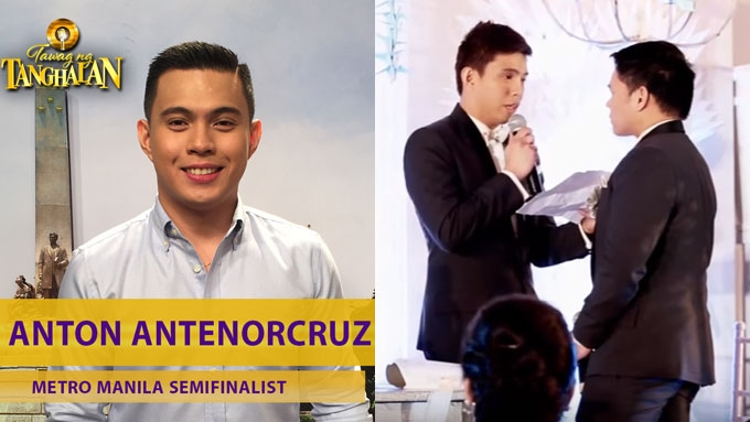 TNT semifinalist Paolo Antenorcruz was once married to a man