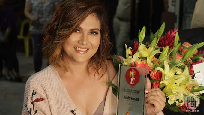 Dimples Romana wins Teleserye Supporting Actress of the Year