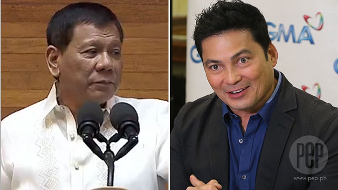 Duterte hits Gabby Lopez but calls out Gabby Concepcion