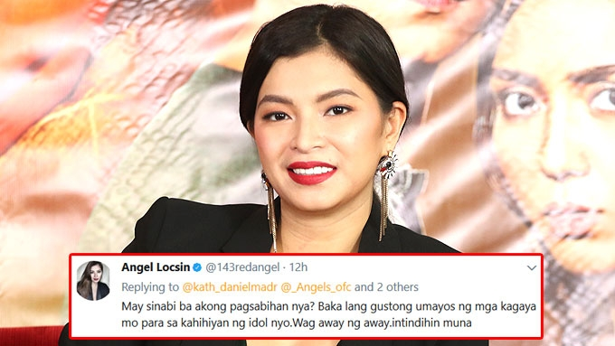 Angel Locsin to KathNiel fans: