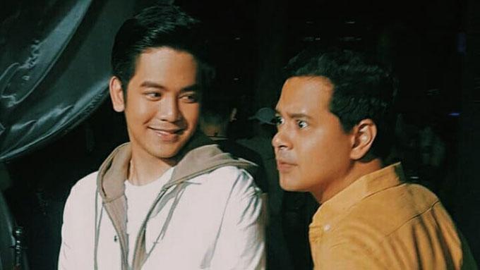Joshua Garcia affirms admiration for idol John Lloyd Cruz