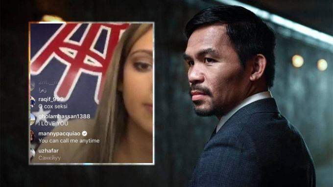 Pacquiao to American vlogger: