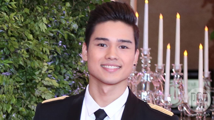Marco Gumabao explains attendance at Star Magic Ball 2017