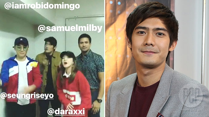 Robi Domingo on meeting Sandara Park: