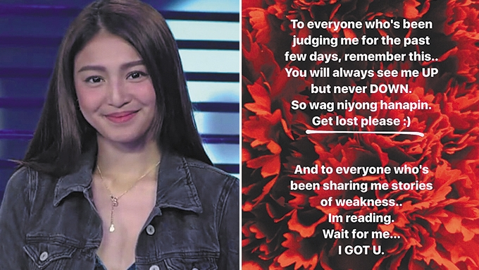 Nadine Lustre breaks silence on teenage brother's death