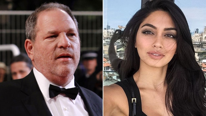 Fil-Italian model dragged into Harvey Weinstein scandal