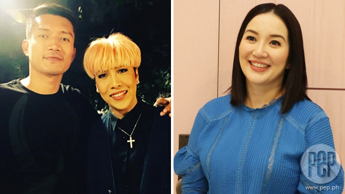 Kris Aquino says Vice Ganda gave her heads up when he partnered with James Yap
