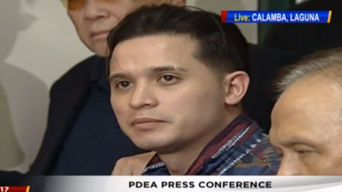 Cogie Domingo strongly denies using, selling drugs