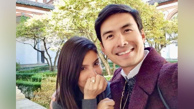 Christian Bautista is engaged to girlfriend Kat Ramnani