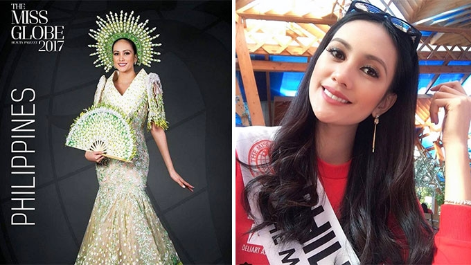 Nelda Ibe hailed as Miss Globe 2017 first runner up