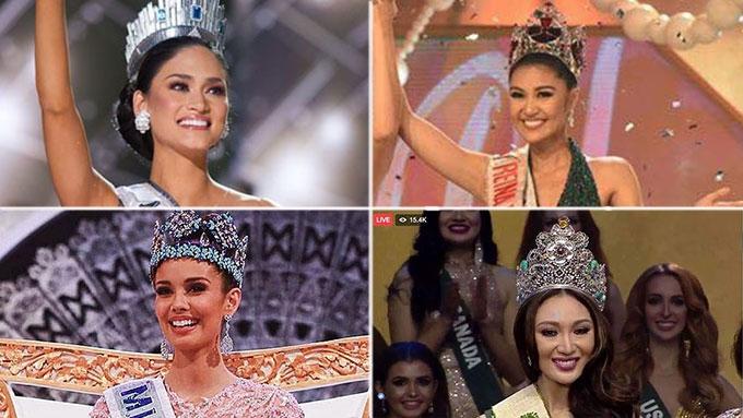 Pia, Megan congratulate new beauty queens Winwyn, Karen